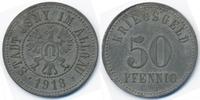 Württemberg 50 Pfennig Isny - Zink 1918 (Funck 229.2)
