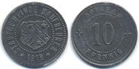Bayern 10 Pfennig Kaufbeuren - Zink 1917 (Funck 234.3) Rand glatt