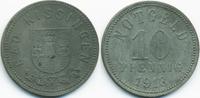 Bayern 10 Pfennig Kissingen - Zink 1918 (Funck 246.4)