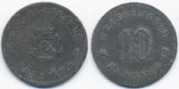 Bayern 10 Pfennig Kötzting - Zink ohne Jahr (Funck 253.3) Rand glatt