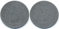 Bayern 25 Pfennig Kronach - Zink 1917 (Funck 260.3)