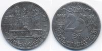 Bayern 25 Pfennig Rothenburg o.T. - Eisen 1921 (Funck 453.7f) Herterich Brunnen