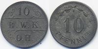 Westfalen - Hagen 10 Pfennig R.W.K O.H. = Rheinisch-Westf. Kalkwerke Ober-Hagen (Fr. 89.3) POW Camp