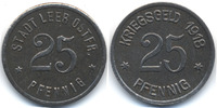 Hannover 25 Pfennig Leer i. Ofr. - Eisen 1918 (Funck 282.2a)