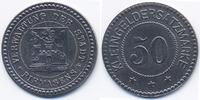 Pfalz 50 Pfennig Pirmasens - Eisen 1918 (Funck 426.8Aa)
