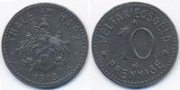 Sachsen 10 Pfennig Thale - Zink 1918 (Funck 537.2c)