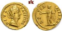 MÜNZEN DER RÖMISCHEN KAISERZEIT AV-Aureus, Antoninus I. Pius, 138-161 für Diva Faustina mater.