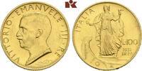 100 Lire 1931/X R, Rom. ITALIEN Victor Emanuel III., 1900-1946. Min. Ra... 984.09 US$ 875,00 EUR  +  16.76 US$ shipping