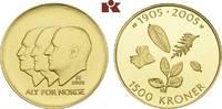 1.500 Kronen 2003, Kongsberg. NORWEGEN Harald V. seit 1991. Polierte Pl... 715,00 EUR  zzgl. 5,90 EUR Versand