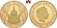 GROSSBRITANNIEN / IRLAND 2 Pounds Elizabeth II seit 1952.