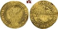 Goldgulden o. J. (1469-1471). NÜRNBERG  Leicht gewellt, sehr schön  575,00 EUR  zzgl. 5,90 EUR Versand