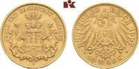 10 Mark 1907. Hamburg Freie und Hansestadt. Sehr schön +  295,00 EUR  zzgl. 5,90 EUR Versand