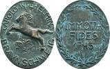 Ovale Bronzegussmedaille o.J. Braunschweig, Stadt  ss, grüne Auflagen  120,00 EUR  zzgl. 5,90 EUR Versand