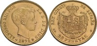 20 Pesetas 1892/1962 Spanien Alfonso XIII., 1886-1931, Neuprägung fast ... 290,00 EUR  zzgl. 5,90 EUR Versand