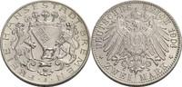 2 Mark 1904 Bremen, Stadt  vz, winz. Kratzer  110,00 EUR  zzgl. 5,90 EUR Versand
