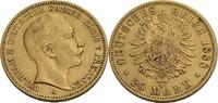 20 Mark, Berlin 1888 Preußen Wilhelm II., 1888-1918 ss, seltener Jahrga... 395,00 EUR  zzgl. 5,90 EUR Versand