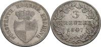 3 Kreuzer 1847 Hohenzollern-Hechingen Friedrich Wilhelm Constantin, 183... 120,00 EUR  zzgl. 5,90 EUR Versand