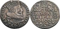 Dreigröscher, Marienburg 1594 Polen Sigismund III., 1587-1632 ss+, dunk... 85,00 EUR  zzgl. 5,90 EUR Versand