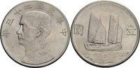 Dollar 1932 China Republik vz, winz. Kratzer  70,00 EUR  zzgl. 5,90 EUR Versand