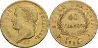 Frankreich 40 Francs A, Paris 1811 Napoleon I., 1805-1814 ss/ss+, min. justiert