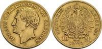 10 Mark, Dresden 1873 Sachsen Johann, 1854-1873 ss, min. berieben, winz... 360,00 EUR  zzgl. 5,90 EUR Versand