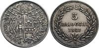 5 Baiocchi, Rom 1841 Vatikan Gregor XVI., 1831-1846 ss +  155,00 EUR  zzgl. 5,90 EUR Versand