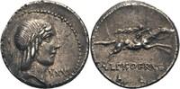 Denar, Rom 90 v.Chr. Rom, L. Calpurnius Piso Frugi  f. vz, Vs. leicht d... 115,00 EUR  zzgl. 5,90 EUR Versand