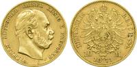 Kaiserreich Preussen 10 Mark Kaiser Wilhelm I.