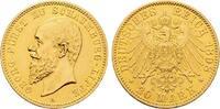 Kaiserreich Schaumburg-Lippe Georg 20 Mark 1898 A vz
