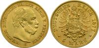 Kaiserreich Preussen 5 Mark Wilhelm I.
