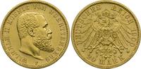 Kaiserreich Württemberg 20 Mark Wilhelm II.