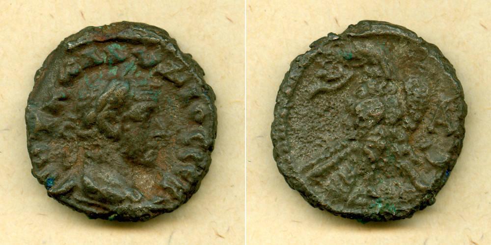 268 Claudius II. Gothicus M. Aurelius CLAUDIUS II. GOTHICUS Provinz Tetradrachme ss-vz [268] ss-vz