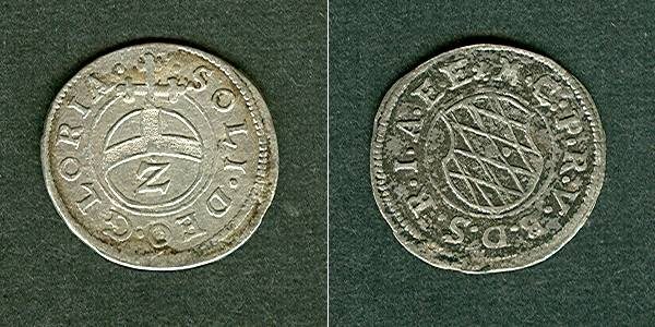Bayern Bayern 2 Kreuzer (1/2 Batzen) o.J. (1598-1651) vz- fast vz