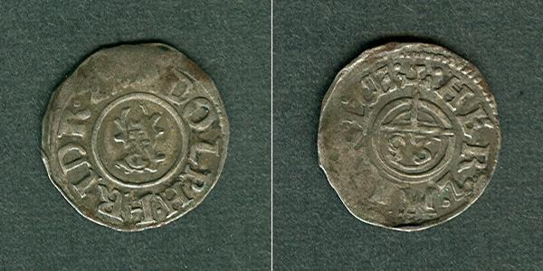1622 Mecklenburg Mecklenburg Schwerin 1/96 Taler (Sechsling) 1622 ss ss