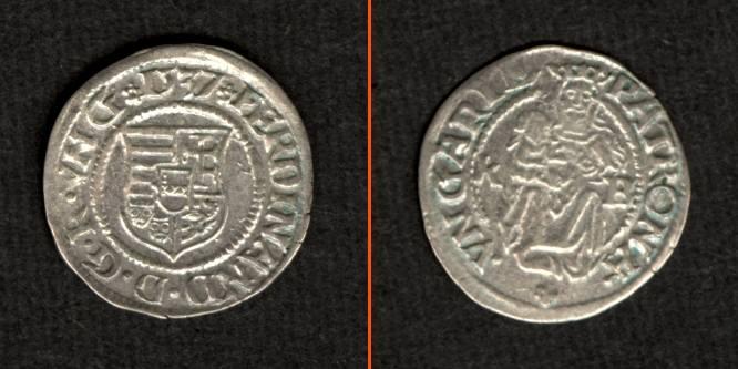 1537 Ungarn Ungarn Denar 1537 K-B Ferdinand I. vz/ss+ vz/ss+
