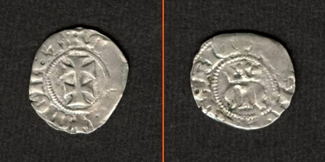 1383 Ungarn Ungarn Denar o.J. Maria ss selten! [1383] ss