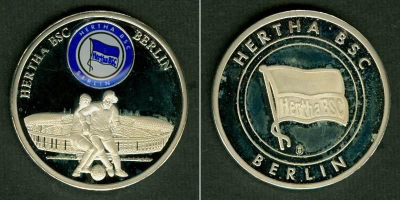 Medaillen Und Jetons Medaille Fussball Farblogo Hertha Bsc Berlin F