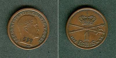 1853 Dänemark DÄNEMARK 1 Skilling 1853 VS ss+ ss+