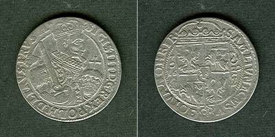1622 Polen POLEN 1 Ort / 18 Groschen 1622 ss+ ss+