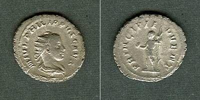 244-246 Philippus II. M. Julius Severus PHILIPPUS II. Filius Antoninian ss+ [244-246] ss+
