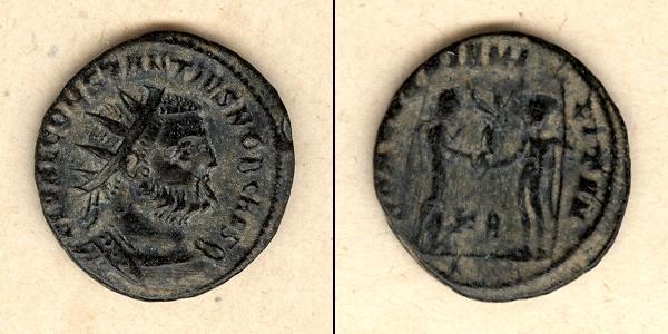 305-306 Constantius I. Flavius Valerius CONSTANTIUS I. (Chlorus) Antoninian vz-/ss selten [305-306] vz-/ss