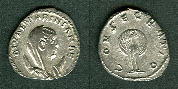 256-257 Mariniana Egnatia MARINIANA Antoninian extrem selten! vz/f.vz [256-257] vz/f.vz
