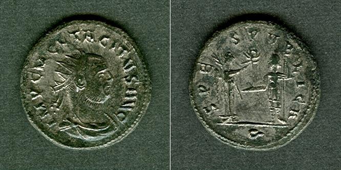 275-276 Tacitus C. Marcus Claudius TACITUS Antoninian f.vz [275-276] f.vz