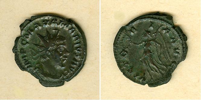 268 Marius Caius Marcus Aurelius MARIUS Antoninian ss-vz selten! [268] ss-vz