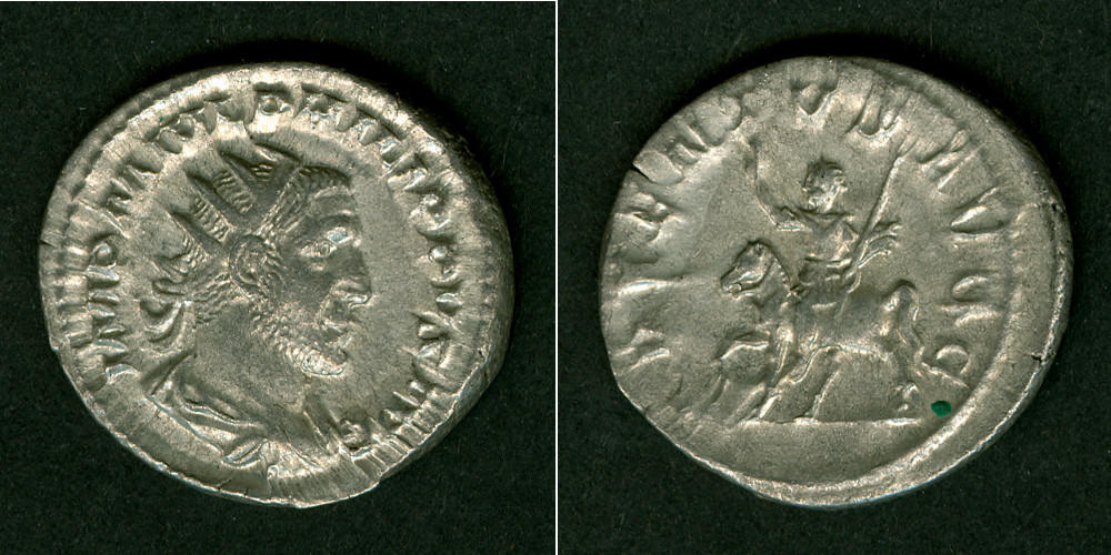 244-247 Philippus I. Marcus Julius PHILIPPUS I. Arabs Antoninian ss-vz [244-247] ss-vz
