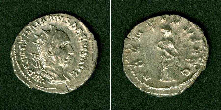 249-251 Traianus Decius Caius Messius Quintus TRAJANUS DECIUS Antoninian f.vz selten [249-251] f.vz