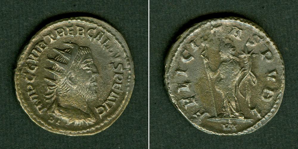 251-253 Trebonianus Gallus Gaius Vibius TREBONIANUS GALLUS Antoninian selten f.vz/ss [251-253] f.vz/ss