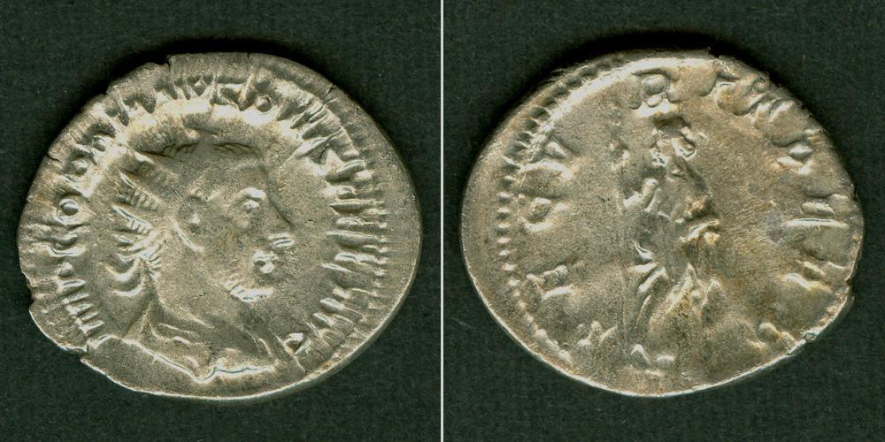 243-244 Gordianus III. Marcus Antonius GORDIANUS III. Pius Antoninian ss+ [243-244] ss+