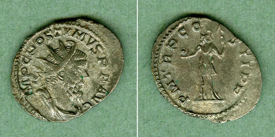 260 Postumus M. Cassianius Latinius POSTUMUS Antoninian ss-vz [260] ss-vz