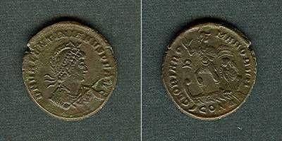 378-383 Valentinianus II. Flavius VALENTINIANUS II. AE2 Mittelbronze vz- selten [378-383] vz-